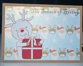25% off // Reindeer Gift Card Holder