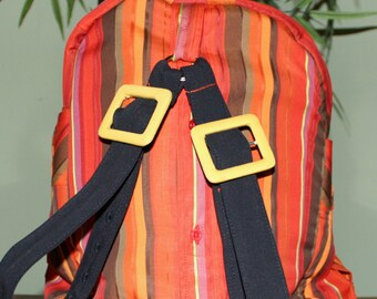 Hand Crafted By Maggie From a Shirt  Backpack -Messenger-  Great New  Sale .
