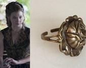 SALE! Margaery Tyrell Rose Ring- r597