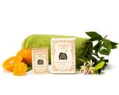 Mandarin Blossom and Calendula Shampoo Bar - 4.75 oz. - Sleek & Smooth Complex for Straight Thick Hair