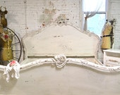 Painted Cottage Shabby  French Romantic  Bed  KING  BD705