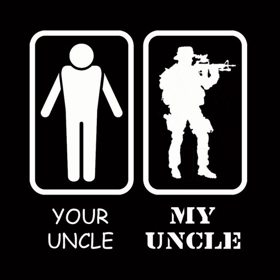 Your Uncle My Uncle U S Military Army Marine Uncle Niece