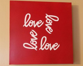 Cycle of Love Canvas Wall Art