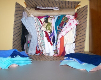 Big Box of Scrap Fabric
