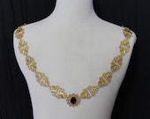 Tudor Chain of Office Livery Collar Madrigal Renaissance Costume Jewelry Game of Thrones Mens Lords
