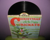 Vinyl Record Album Christmas with the Happy Crickets LP 1964 Childrens Holiday Classics