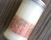 PURE SOY CANDLE  10 oz. Sugar Shaker  jar
