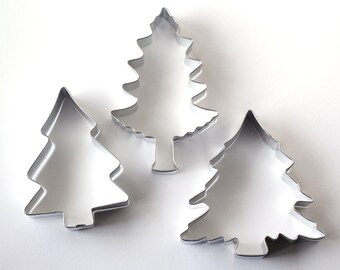Pine Tree Cookie Cutters (Set of 3)