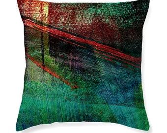 Restoration decorative throw pillow, contemporary abstract cushion, home accessories, pillow covers, cushion covers