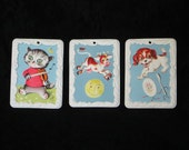 Vacuform Nursery Rhyme Wall Plaques Hey Diddle Diddle