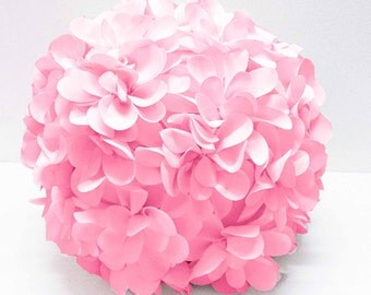 pink flower pillow round pouf circular pillow fibre pillow nursery decor baby pillow sofa pillow bedroom decor wedding home decor gift