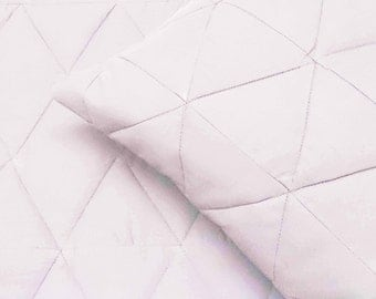 cotton bedspread white triangle King quilted bedspread ,bedding coverlet machine stitched pattern contemporary quilt