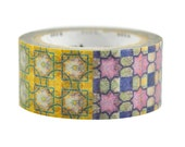 Limited Edition mt Japanese Washi Masking Tape - Taiwan Traditional Tile Patterns