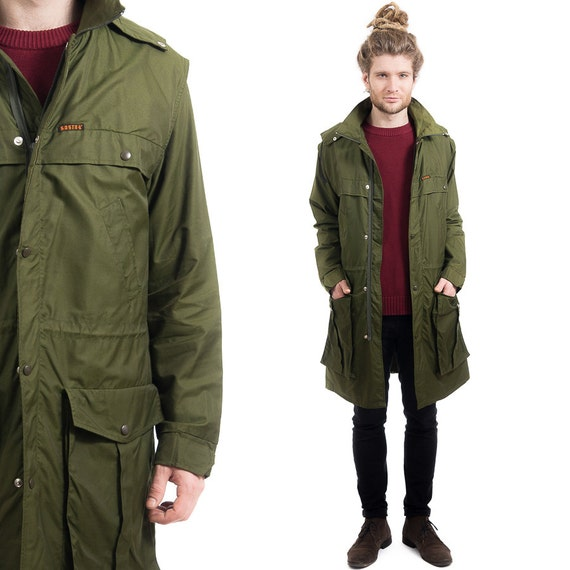 Long Parka Jacket Mens - Coat Nj