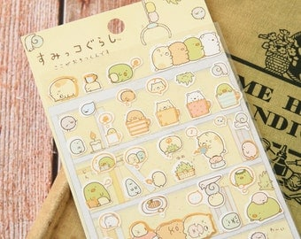 03 Sumikkogurashi Cute Animals scrapbooking stickers
