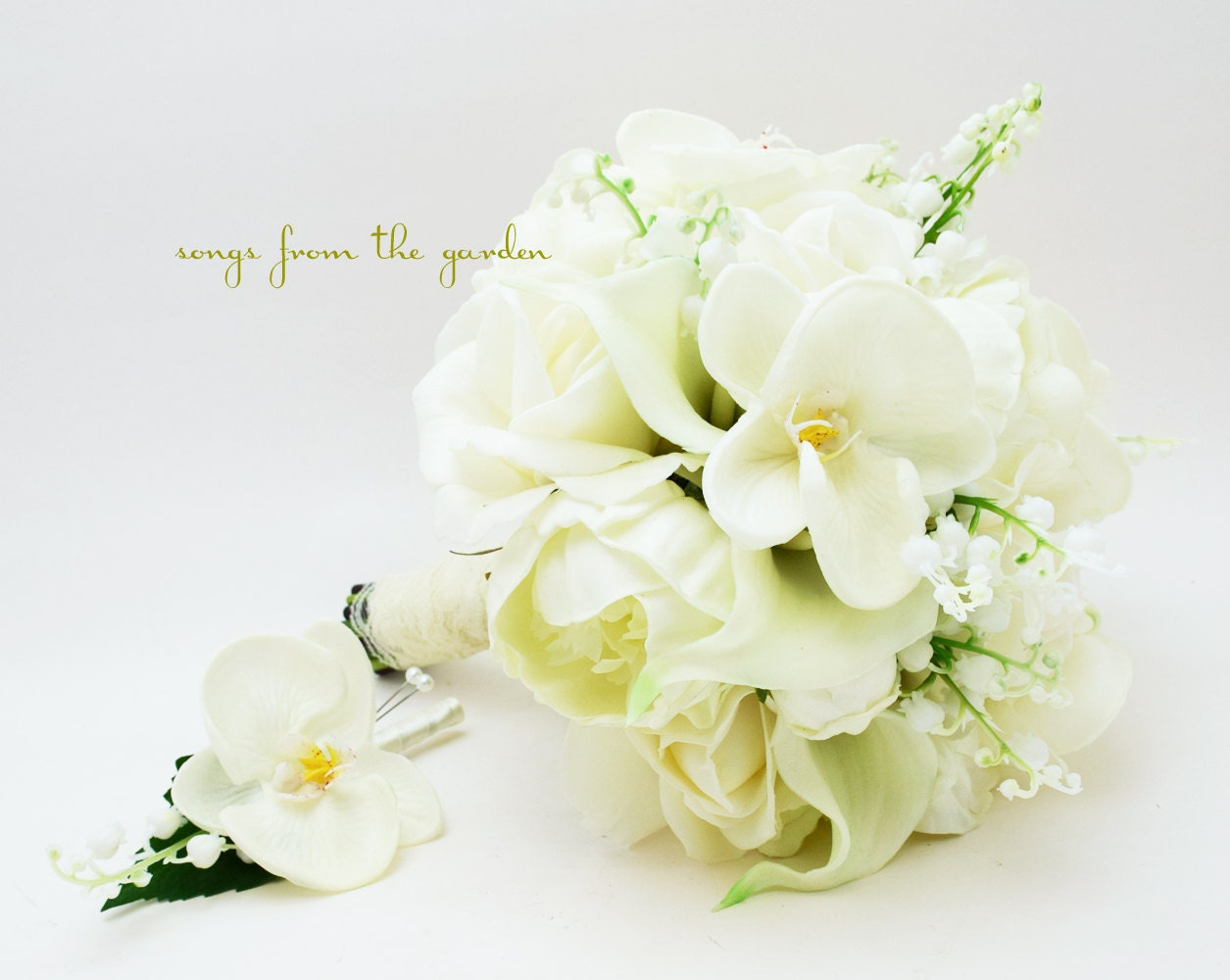 Real Touch Bouquet Lily Of The Valley By SongsFromTheGarden
