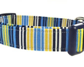 Striped Dog Collar - The Ace