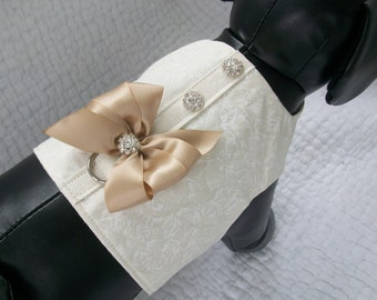 Wedding Dog Harness Custom Made