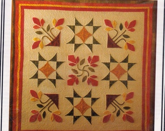 Floradorable 47 Inch Square Quilt Pattern by Jennie Rayment called Twiddling and Fiddling