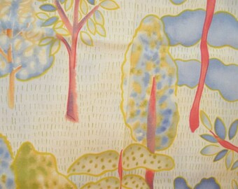 Weird Forest Pastel Quilting Cotton Fabric Yardage