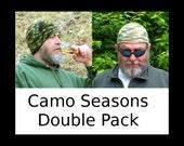 Mens Seasons Double Pack: Camoflauge