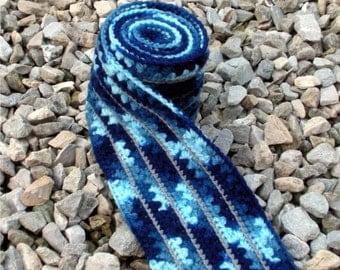 Carolina Coast Crochet Star Scarf