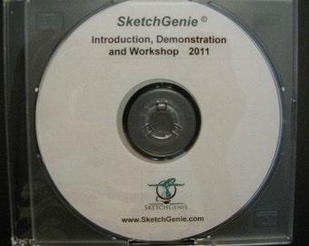 DVD Sketch Genie Instruction, Workshop and Demonstration