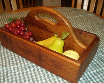 Reclaimed wood - Garden Trug/Cutlery Box [TC116]