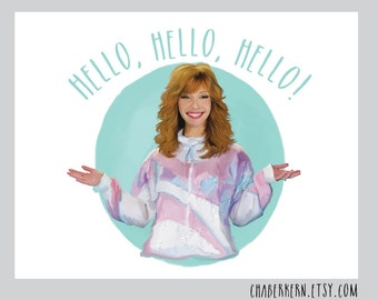 Valerie Cherish THE COMEBACK HBO Aunt Sassy Greeting Card