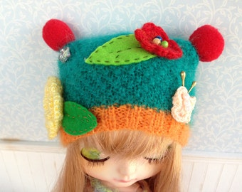 Clown Hat Style for Blythe Doll