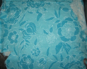 Make What Ever 3 Scrap Pieces Hawaiian Fabric  Cotton Fabric Tropical chic