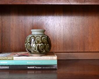 vintage 1980s paul herman pottery vase
