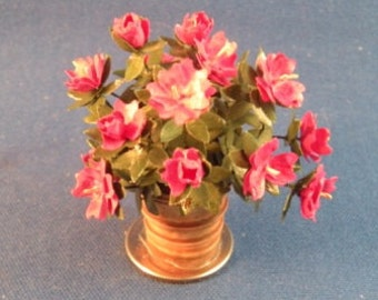 Lovely handmade flowering plant for any mini decor