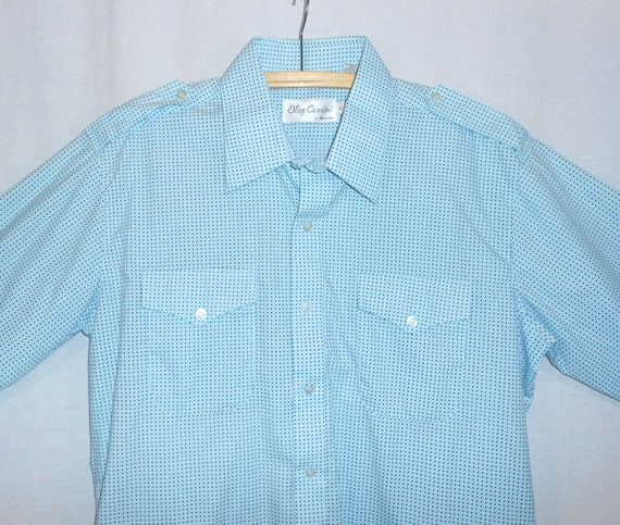 vintage designer clothing oleg cassini mens shirt by