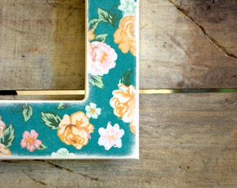 Years 4 x 6 Picture Frame - Floral Picture Frame
