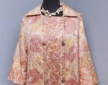 Vintage VAN RAALTE  Quilted Robe / Quilted Robe / 40 Bust