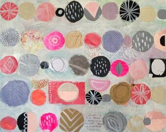 Circles 11 x 14 Print*