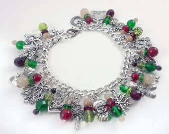 Joyful Holidays Charm Bracelet