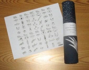 Japanese Cranes Furoshiki with Free Shipping