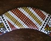 Traditional Ochre Boomerang, Handpainted