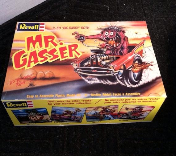 Gasser Plastic Models mr Gasser Plastic Model Kit ed