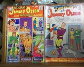 DC comics, Jimmy Olsen comic, Superman comic, vintage comics, golden age comics, western comics