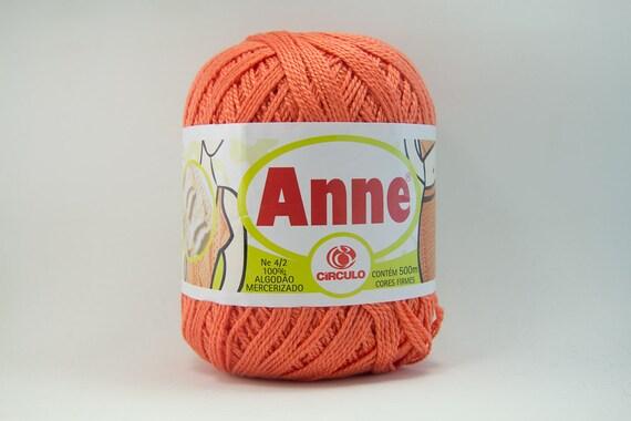 Anne Cotton Crochet Thread Yarn 3 Size Color 4448 By Minibytes