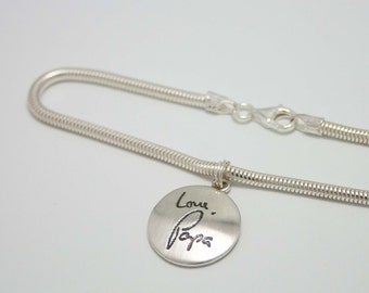 Bracelet with Personalized Charm