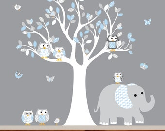 Wall decals nursery, children wall sticker, wall decals kids, baby nursery wall