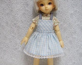 Sales Super Dollfie Yo SD Littlefee Blue Dress Set