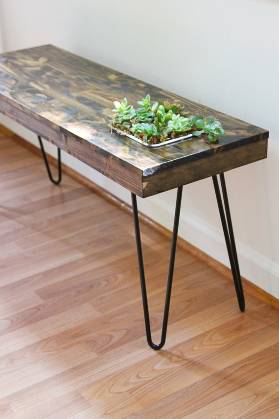 Succulent Garden Table // Small side or coffee by ...