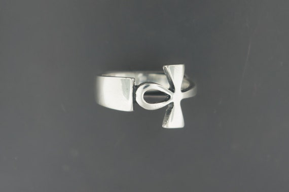Sterling Silver Ankh Ring