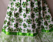 This is my Lucky Skirt - Girls' Shamrock Skirt - Size 6/7 - READY TO SHIP