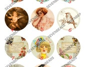 4pcs 10mm,12mm,14mm,16mm,18mm,20mm,25mm,30mm Round Photo Glass Cabochons ,jewelry Cabochons finding beads,glass cabochons findings-1